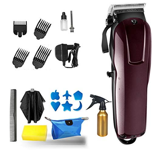 LKJHG Multifunctional Hair Cutting Kit Shaving Clippers Clippers,Best Electric Mens Hair Clipper Trimmer,Retro Oil Head Electric Clipper,Rechargeable Electric Clipper Barber Shop Professional