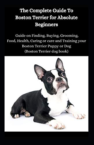 The Complete Guide To Boston Terrier For Absolute Beginners: Guide On Finding, Food, Health, Caring Or Care And Training Your Brazillian Terrier Puppy Or Dog (Brazillian Terrier Dog Book)