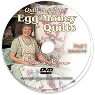 Egg Money Quilts DVD with Eleanor Burns