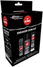 KIWI Sneaker Care Kit - Cleans Shoes, Repels Stains and Removes Odors. 3-Step Sneaker Care System (Pack of 1)
