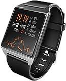 SmartWatch, guardare un braccialetto sano sport SmartWatch Pedometro Monitor sonno con iOS e Android per i bambini delle donne degli uomini per la corsa, trekking e arrampicata,UNA