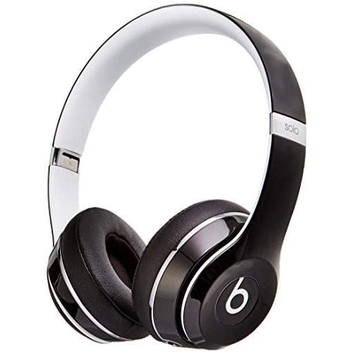 7b1f62705e8 Beats Solo2 Wired On-Ear Headphone, Luxe Edition - Black