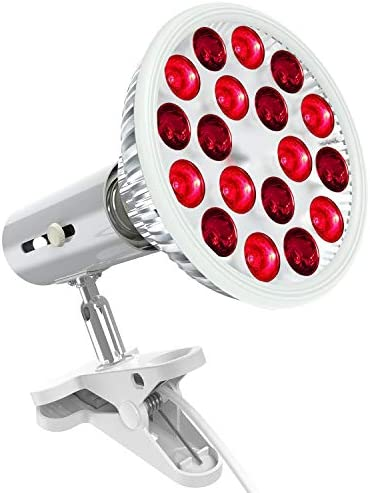 Bestqool Red Light Therapy Device 660nm 850nm 18 LEDs Near Infrared Led Light Therapy High Irradiance product image