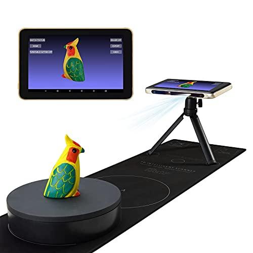 Revopoint Tanso S1 Scanner 3D Super-sottile portatile livello industriale touch screen scanner 0,1 MM Precisione Costruito in Computing AI Scansione Veloce per Stampa 3D