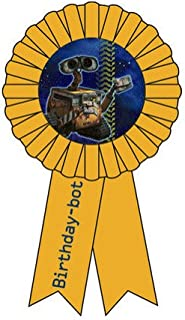 Wall-e Guest of Honor Birthday Ribbon Pin for Walle Party Hit