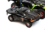 SummitLink Compatible Custom Body Muddy Orange Over Black Replacement for 1/16 Scale RC Car or Truck (Truck not Included) SSMN-BR-01