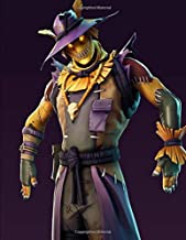 Fortnite - Scary Scarecrow: Music Composition Notebook with Five-Line Staff Paper and 12 Bar Staffs Per Page