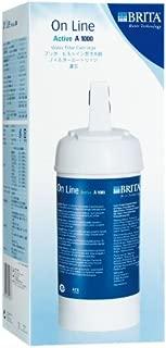 BRITA(ブリタ)アンダーシンク型浄水器用カートリッジ オンラインアクティブ A1000