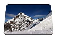 22cmx18cm マウスパッド (山雪ラインジオメトリ冬) パターンカスタムの マウスパッド