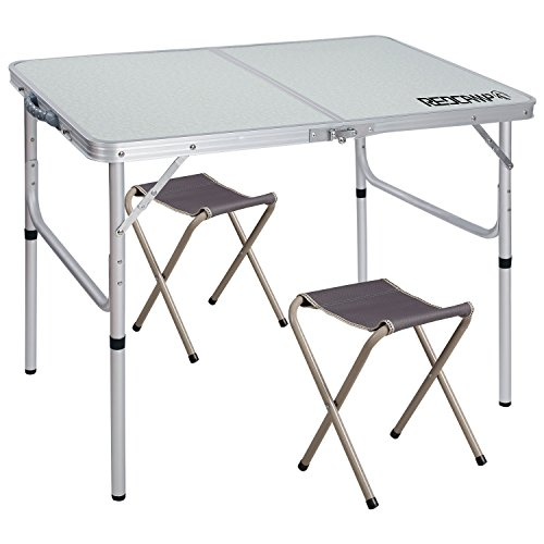 REDCAMP Folding Camping Table Adjustable, Portable Picnic Table with 2 Chairs, Aluminum White 35.4'x23.6'x15''https://s8n9d9q9.rocketcdn.me/27.6'