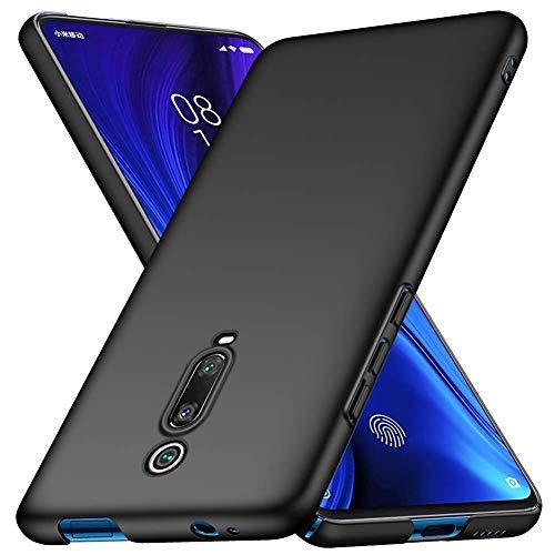 cookaR Hart Hülle für Xiaomi Mi 9T/9T Pro, Ultra-Dünn Schlank Matt Handyhülle,Einfache Stoßfeste Kratzfeste Ganzkörper Hülle Cover Schutzhülle für Mi 9T/9T Pro Smartphone,Schwarz