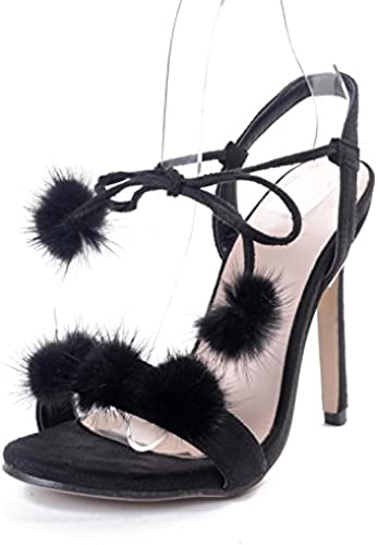 Damen Sandalen Sandaletten Plateau Jeans Holz Optik High Heels | SIMODA