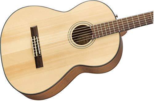 Fender Classical Guitar 6 CN-60S Concert Nylon String Natural w/Walnut Fingerboard, Right (970160521)