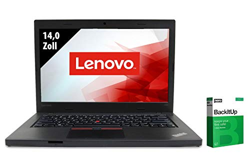 Lenovo ThinkPad L460 | Notebook | 14,0 Zoll | Core i5-6300U @ 2,4 GHz | 8GB RAM | 128GB SSD | WXGA (1366x768) | Webcam | Windows 10 Pro (Zertifiziert und Generalüberholt)