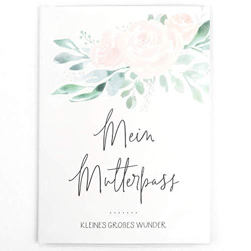 Mutterpasshülle, Mein Mutterpass, Schutzhülle für deutschen Mutterpass - Geschenk für Schwangere, Schwangerschaft