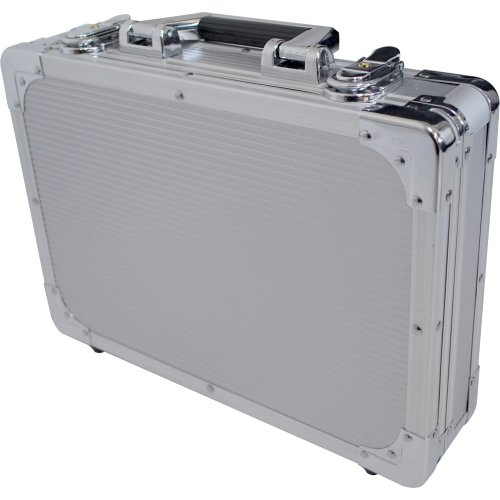 KC エフェクターケース EC-40/SV シルバー (内寸 320 x 220 x 35+20mm)