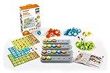 Miniland- Juego cooperativo - manipulativo para el Aprendizaje del lenguaje, Color Gris (31978)