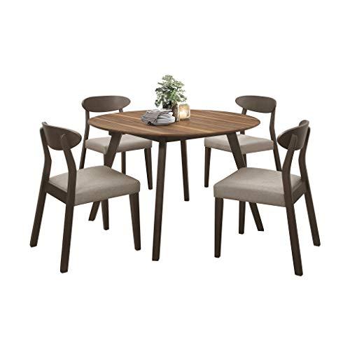 Homelegance 5-Piece Dining Set, Espresso