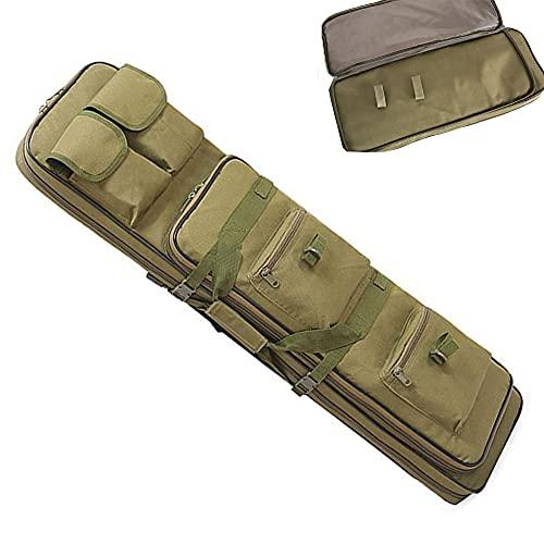JINGJIN Fundas para escopetas de Caza   Funda para Escopeta  Rifle Bolsa  Funda para Rifle de Caza  Airsoft Caza Pistola Funda   Bolsa para Rifle Funda para Armas  Pistola Bolsa,Green-1200mm/4