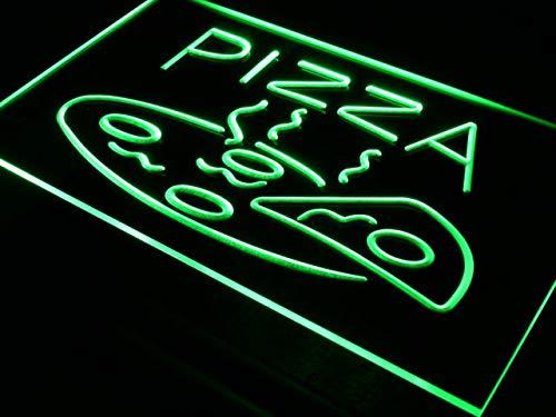 ADVPRO Cartel Luminoso i004-g Open Hot Pizza Cafe Restaurant Neon Light Signs