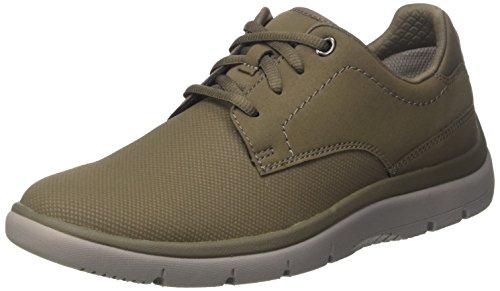 Clarks 261287827, Zapatos Hombre, Marrón (light Black), 44.5 EU