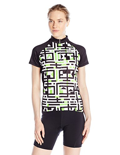 Primal Damen Trikot A-Maze-Ing Jersey, Mehrfarbig, L