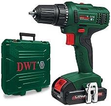 Cordless Drill 18V 10mm 1.5AMP +Extra Battery DWT