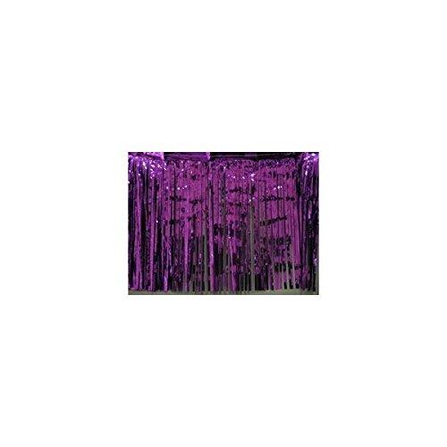 Foil Skirting Purple