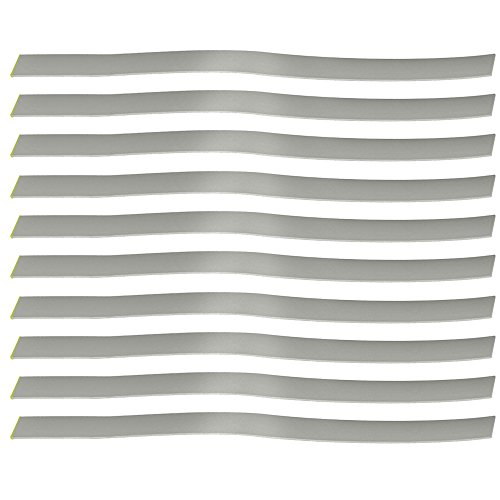Ehdis 10 Strips Autocollant à Bande réfléchissante pour Les tacachètres Photo numériques sans Contact Accessoires Optical et Laser Tach RPM
