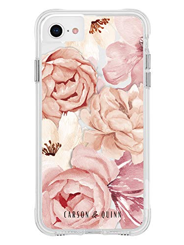 Carson & Quinn Watercolor Flowers Case – iPhone 6s/7/8