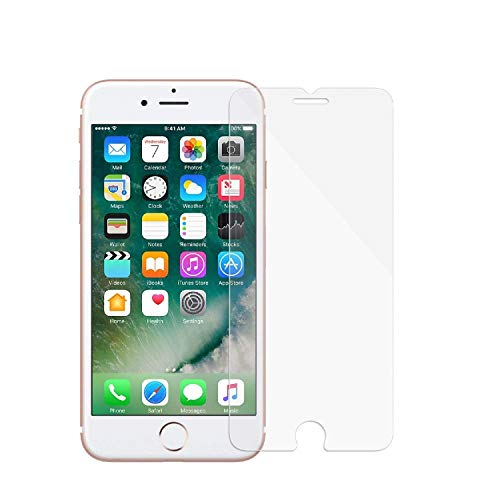 """eTECH Collection Tempered Glass Screen Protector Compatible for Apple iPhone 6S Plus and iPhone 6 Plus 5.5"""" [5.5 inches] Models 2015 2014 – Bubble Free, Case Friendly, HD Crystal Clear"""