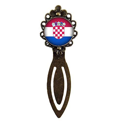 Xubu Bladwijzers voor Lezen Liefhebbers,Kroatische Vlag Bladwijzers,Nationale Vlag Bladwijzers