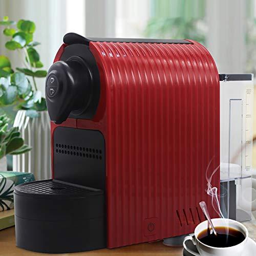 RWQRWQ Machine à Café Capsule 1350W, pour Capsule Nescafé, pour Capsule Lavazza Blue, pour Capsule Lavazza Point, 19Bar, RéServoir d'eau De 0,8L