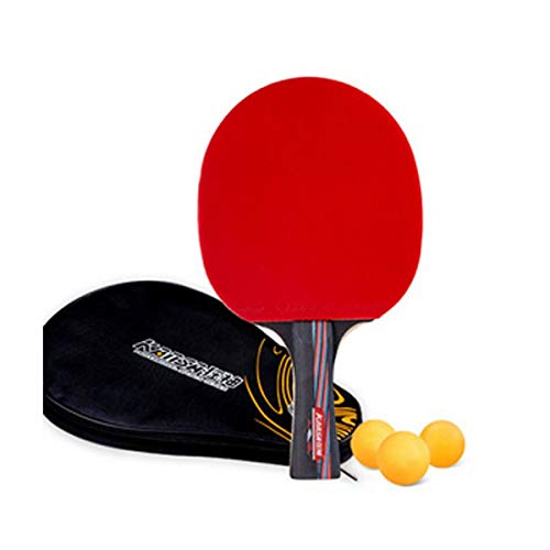 Find Bargain HENGTONGWANDA Table Tennis Racket, Suitable for Outdoor Sports and Fitness Rackets, Car...