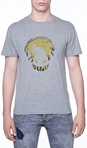 Pesadilla Jacobo Camiseta De Los Hombres Manga Corta Gris T-Shirt Men Grey tee S