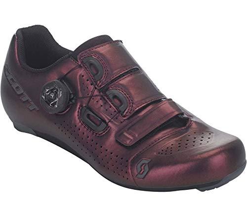 SCOTT Zapatilla Carretera Team Boa Lady Ciclismo, Mujer, Nitro Purple/Black, 41