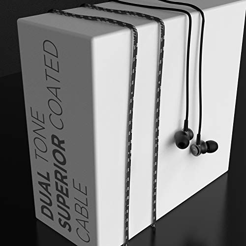 boAt Bassheads 152 in Ear Wired Earphones with Mic(Active Black)