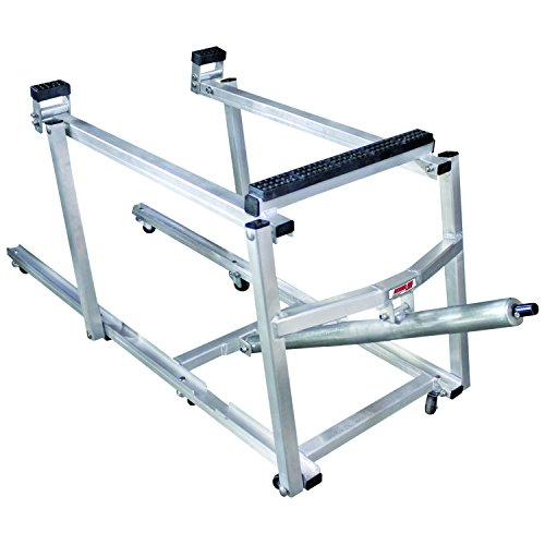 Extreme Max 5800.1184 Deluxe Aluminum Snowmobile Lift (Wheel...