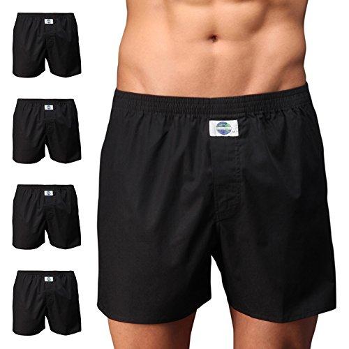D.E.A.L International 5er-Set Boxershorts, schwarz Size XL
