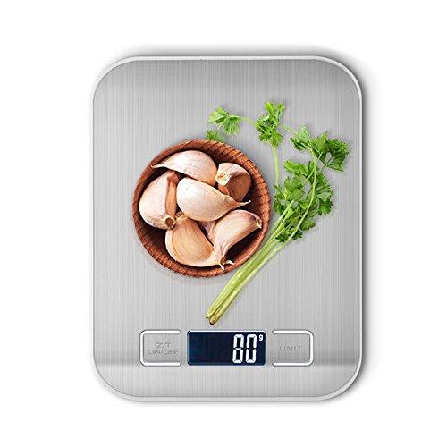 Bazaar Honana HN-MS2 digitale keukenweegschaal 5000g/1g multifunctioneel HD LCD-scherm Elektronisch evenwicht