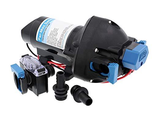 Jabsco 31395-2512-3A, ParMax 3-12V 3GPM 25PSI Bomba de suministro de agua dulce