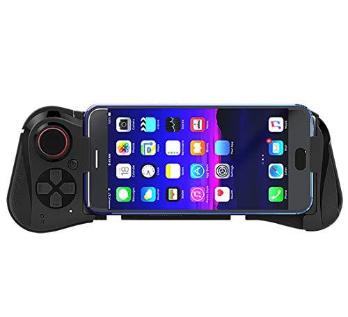 PGODYQ Manette de Jeu sans Fil télescopique, Manette de Jeu sans Fil Bluetooth, Manette de Jeu pour Android-Bluetoothcontroller
