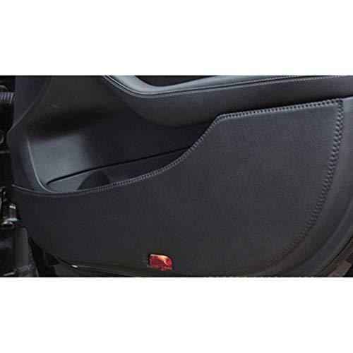 MPOQZI Auto Innentür Kratzschutz Anti Kick Dekorationspads, Fit für Jeep Grand Cherokee 2011-2018