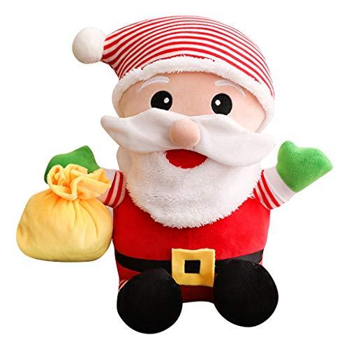 HUOQILIN Kerstman Pop Koningin Creatieve Leuke Pluche Speelgoed Stuur Meisjes Hanger Poppen Voor Kinderen