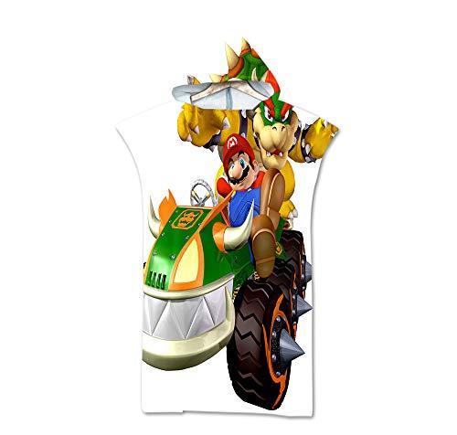 Super Mario Bros Toalla De Playa Con Capucha De Personaje De Anime Toalla De Playa De Microfibra Suave Para Niños Toalla De Playa De Baño Super Mario Toalla De Baño Personalizada Para Adolescentes