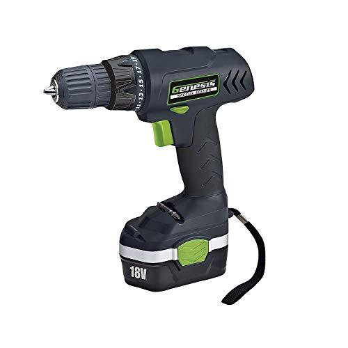 Genesis 18-Volt Cordless Drill Driver (GCD18CSE)