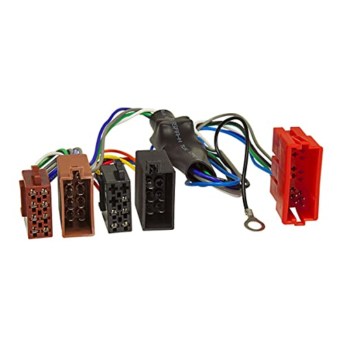 tomzz Audio 7003-002 Aktivsystem Radio Adapter kompatibel mit Audi A2 A3 A4 B5 A6 A8 TT Bose DSP Kabel 4x50W auf 16pol ISO Norm