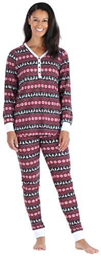 Olivia Rae Conjunto Pijama pantalón chándal Henley