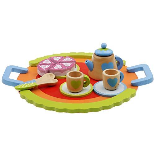 B Blesiya Kaffeeservice Spielservice Teeparty Kindergeschirr Spiel für Kinder