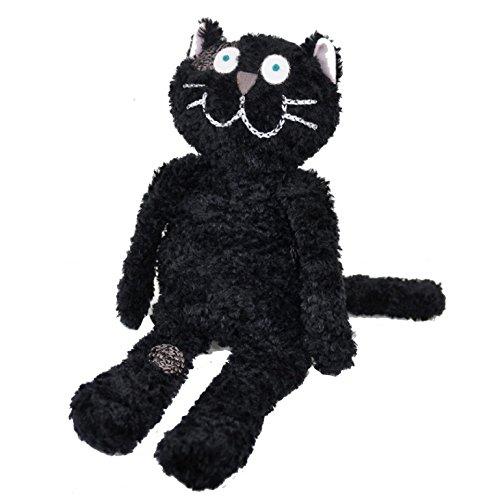 Manhattaner's マンハッタナーズ  ぬいぐるみM くたくた猫 (ブラック)